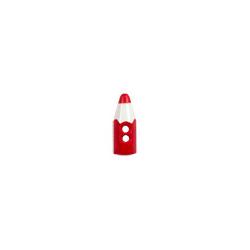 """Пуговицы """"Карандаш"""" красные 15мм 12шт. """"Gamma"""""""