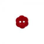 """Пуговицы """"Цветок"""" красные 11мм 12шт. """"Gamma"""""""