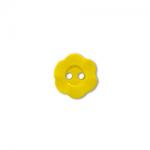 """Пуговицы """"Цветок"""" желтые 11мм 12шт. """"Gamma"""""""