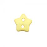 """Пуговицы """"Звезда"""" желтые 6мм 12шт. """"Gamma"""""""