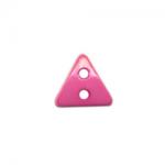 """Пуговицы """"Треугольник"""" яр розовые 6мм 12шт. """"Gamma"""""""
