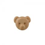 """Пуговицы """"Медвежонок"""" бежевые 15мм 12шт. """"Gamma"""""""