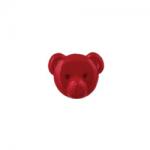 """Пуговицы """"Медвежонок"""" красные 15мм 12шт. """"Gamma"""""""