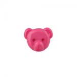 """Пуговицы """"Медвежонок"""" розовые 15мм 12шт. """"Gamma"""""""