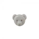 """Пуговицы """"Медвежонок"""" серые 15мм 12шт. """"Gamma"""""""