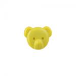 """Пуговицы """"Медвежонок"""" желтые 15мм 12шт. """"Gamma"""""""