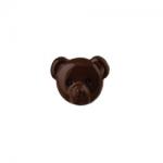 "Пуговицы ""Медвежонок"" коричневые 15мм 12шт. ""Gamma"""