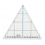 """Треугольник для пэчворк с углом 60 20х23см QRL-09 """"Gamma"""""""