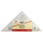 """Линейка-треугольник для кроя блока """"Летящие гуси"""" от 1 до 5 дюймов """"Hemline"""""""