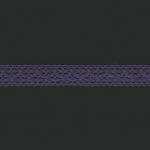 """Кружево 20мм фиолетовое 3037 """"Iemesa"""" (Испания)"""