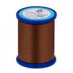 """Нитки швейные GFST 50 цв. 093 коричневый 100% полиэстер 200м """"SumikoThread"""" (Япония)"""