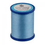 """Нитки швейные GFST 50 цв. 145 голубой 100% полиэстер 200м """"SumikoThread"""" (Япония)"""