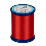 """Нитки швейные GFST 50 цв. 154 красно-оранжевый 100% полиэстер 200м """"SumikoThread"""" (Япония)"""