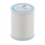 """Нитки швейные для пэчворка STP1 50 цв. 01 белый 100% хлопок 200м """"SumikoThread"""" (Япония)"""