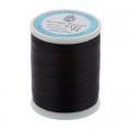 """Нитки швейные для пэчворка STP1 50 цв. 02 чёрный 100% хлопок 200м """"SumikoThread"""" (Япония)"""
