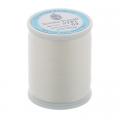 """Нитки швейные для пэчворка STP1 50 цв. 03 молочный 100% хлопок 200м """"SumikoThread"""" (Япония)"""