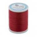 """Нитки швейные для пэчворка STP1 50 цв. 09 т. красный 100% хлопок 200м """"SumikoThread"""" (Япония)"""