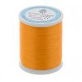 """Нитки швейные для пэчворка STP1 50 цв. 11 оранжевый 100% хлопок 200м """"SumikoThread"""" (Япония)"""