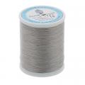 """Нитки швейные для пэчворка STP1 50 цв. 19 св. серый 100% хлопок 200м """"SumikoThread"""" (Япония)"""