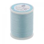 """Нитки швейные для пэчворка STP1 50 цв. 22 св. голубой 100% хлопок 200м """"SumikoThread"""" (Япония)"""
