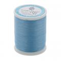 """Нитки швейные для пэчворка STP1 50 цв. 23 голубой 100% хлопок 200м """"SumikoThread"""" (Япония)"""