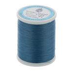 """Нитки швейные для пэчворка STP1 50 цв. 24 т. голубой 100% хлопок 200м """"SumikoThread"""" (Япония)"""