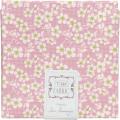 "Ткань в отрезе Cherry Blossom 05 из серии ""Bumblebee"" 100x110см ""Tilda"""