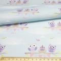 """Ткань для пэчворк (48x50см) AM626003 из коллекции """"Совушки и птички"""" """"ArtMix"""""""