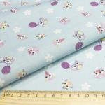 """Ткань для пэчворк (48x50см) AM626005 из коллекции """"Совушки и птички"""" """"ArtMix"""""""