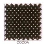 """Ткань из коллекции """"Мелкий горошек"""" Cocoa """"Classic Cottons""""(США)"""
