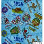 """Ткань из коллекции """"Старая ферма"""" 60151-2 """"Classic Cottons""""(США)"""