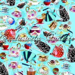 """Ткань из коллекции """"Чай вдвоём"""" 60654-2"""