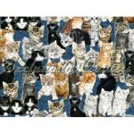 """Ткань из коллекции """"Раз-котёнок, два-котёнок"""" 60681-2 """"Classic Cottons""""(США)"""