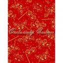 """Ткань из коллекции """"Карнавал"""" 60729-1 """"Classic Cottons""""(США)"""