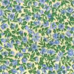"""Ткань из коллекции """"Дикие цветы"""" 38186-Blue """"Classic Cottons""""(США)"""