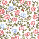 """Ткань из коллекции """"Дикие цветы"""" 40428-10 """"Classic Cottons""""(США)"""