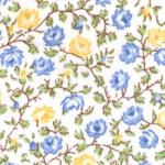 """Ткань из коллекции """"Дикие цветы"""" 40428-20 """"Classic Cottons""""(США)"""
