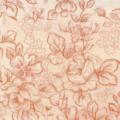 """Ткань из коллекции """"Цветочные мотивы"""" 38935-10 """"Classic Cottons""""(США)"""