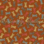 """Ткань из коллекции """"Лучший друг человека"""" 60313-99 """"Classic Cottons""""(США)"""