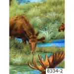 """Ткань из коллекции """"Охота"""" 8334-2 """"Classic Cottons""""(США)"""