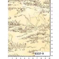 "Ткань из коллекции ""Охота"" 8337-9"