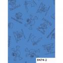 """Ткань из коллекции """"Пираты"""" 8474-2 """"Classic Cottons""""(США)"""
