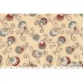 """Ткань для пэчворк (50x55см) 30963-10 из коллекции """"Annemie"""" """"Lecien"""" (Япония)"""