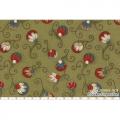 """Ткань для пэчворк (50x55см) 30963-60 из коллекции """"Annemie"""" """"Lecien"""" (Япония)"""