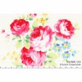 """Ткань для пэчворк (60x110см) 30968-10 из коллекции """"Flower Sugar"""" """"Lecien"""" (Япония)"""