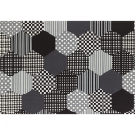 """Ткань для пэчворк (50x55см) 30992-100 из коллекции """"Modern Quilt"""" """"Lecien"""" (Япония)"""