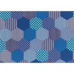 """Ткань для пэчворк (50x55см) 30992-70 из коллекции """"Modern Quilt"""" """"Lecien"""" (Япония)"""