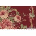 """Ткань для пэчворк (60x110см) 31019-30 из коллекции """"Antique rose"""" """"Lecien"""" (Япония)"""