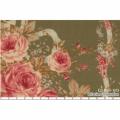 """Ткань для пэчворк (60x110см) 31019-60 из коллекции """"Antique rose"""" """"Lecien"""" (Япония)"""