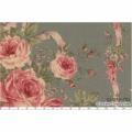 """Ткань для пэчворк (60x110см) 31019-70 из коллекции """"Antique rose"""" """"Lecien"""" (Япония)"""